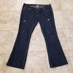 Like New, Arizona Jeans Flare Legged Semi Distress